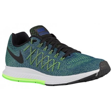 factory price 3aa23 40872 Nike Air Zoom Pegasus 32 - Men's - Running - Shoes - Deep Royal Blue/Ghost  Green/Voltage Green/Black-sku:49340403