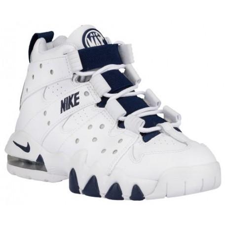 sélection premium d5952 6c8a1 Nike Air Max CB '94 - Boys' Grade School - Basketball - Shoes -  White/Metallic Silver/Midnight Navy-sku:09560103