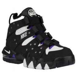 Nike Air Max CB '94 - Boys' Grade School - Basketball - Shoes - Black/Pure Purple/White-sku:09560007