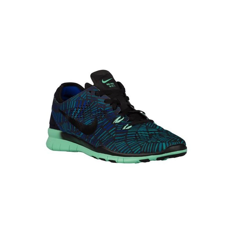 Nike Free 5.0 TR Fit 5 - Women's - Training - Shoes - Black/Green ...