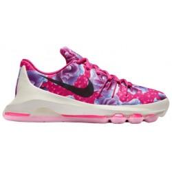 Nike KD 8 - Boys' Grade School - Basketball - Shoes - Kevin Durant - Vivid Pink/Black/Hyper Turquoise/Pink Blast-sku:7786603