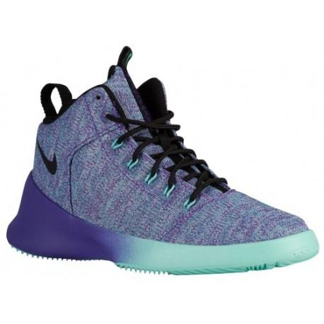 Nike Hyperfr3sh - Boys' Grade School - Basketball - Shoes - Hyper Turquoise/Black/Hyper Grape-sku:20254300