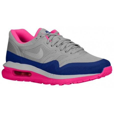 magasin d'usine 789da fe88c Nike Air Max Lunar 1 - Women's - Running - Shoes - Lt Magnet Grey/Hyper  Pink/Deep Ryl Blue/Pure Plat-sku:4937001