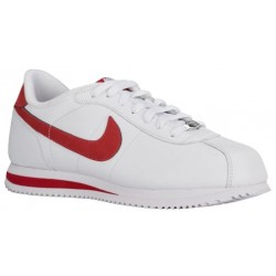 Nike Cortez - Men's - Running - Shoes - White/Varsity Red-sku:16418162