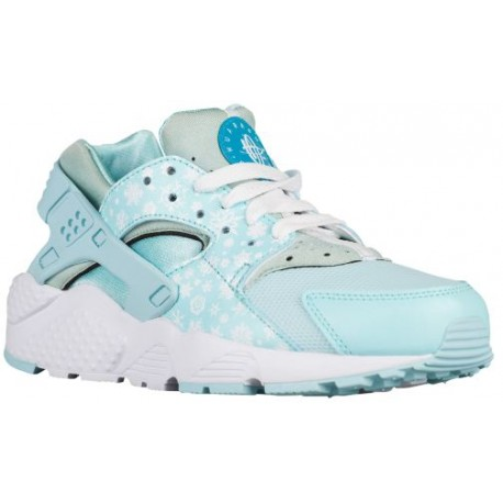 d1a1ba71138 Nike Huarache Run - Girls' Grade School - Running - Shoes - Copa/White/Blue  Lagoon-sku:04946401