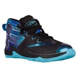 Nike LeBron XIII - Boys' Toddler - Basketball - Shoes - LeBron James - Black/White/Heritage Cyan-sku:08711003