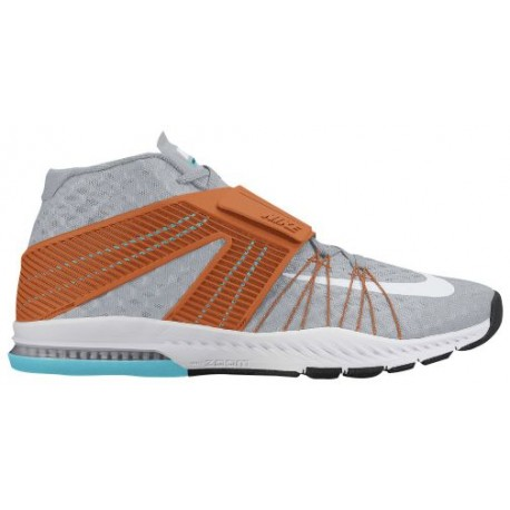 Nike Zoom Train Toranada - Men's - Training - Shoes - Wolf Grey/White/