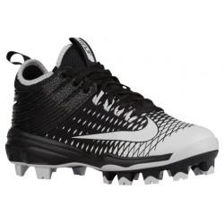 Nike Trout 2 Pro BG - Boys' Grade School - Baseball - Shoes - Mike Trout - Black/White-sku:7132010