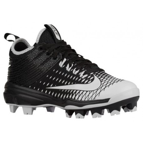 Nike Trout 2 Pro BG - Boys' Grade School - Baseball - Shoes - Mike Trout - Black/White-sku:7132010