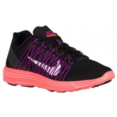 low priced bdd63 9f80c black and white nike running shoes for women,Nike LunaRacer + 3 - Women s -  Running - Shoes - Black White Hyper Orange Vivid Pu