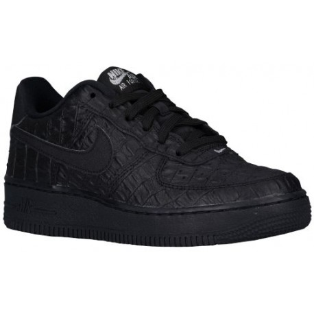 Nike Air Force 1 Low - Boys' Grade School - Basketball - Shoes - Black/Black-sku:49144007