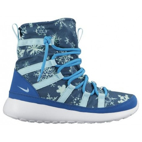 premium selection 779d8 a4d56 Nike Roshe One Hi Sneakerboots - Girls' Grade School - Casual - Shoes -  Brigade Blue/Blue Lagoon/Copa/White-sku:07744400