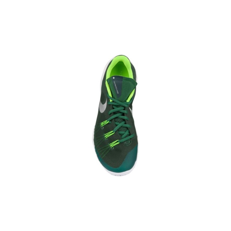 Green And White Youth Basketball Shoes