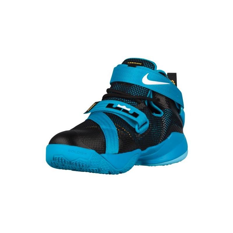 Nike Youth Blue Basketball Shoes