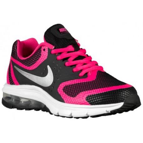 98f1ee6715b34 Nike Air Max Premiere Run - Girls' Grade School - Running - Shoes -  Black/Vivid Pink/White/Metallic Silver-sku:16788004