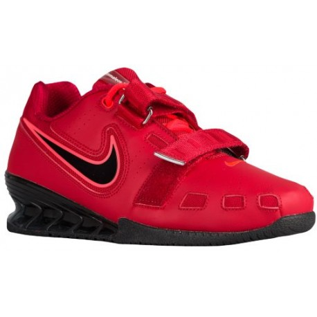 Nike Romaleos II Power Lifting - Men's - Training - Shoes - Red/Hyper Crimson/Black-sku:76927606