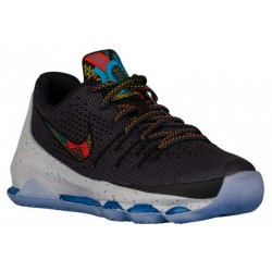 Nike KD 8 - Boys' Grade School - Basketball - Shoes - Kevin Durant - Black/Multi-sku:36694090