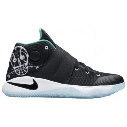 Nike Kyrie 2 - Boys' Grade School - Basketball - Shoes - Kyrie Irving - Black/Black/Hyper Jade/White-sku:26673001
