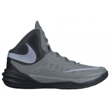 11053002 Womens Nike Prime Hype II Cool Grey/Reflective Silver/Black/Metallic Silver