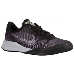 Nike Mentality II - Boys' Grade School - Basketball - Shoes - Kobe Bryant - Black/White/Cool Grey-sku:0322001