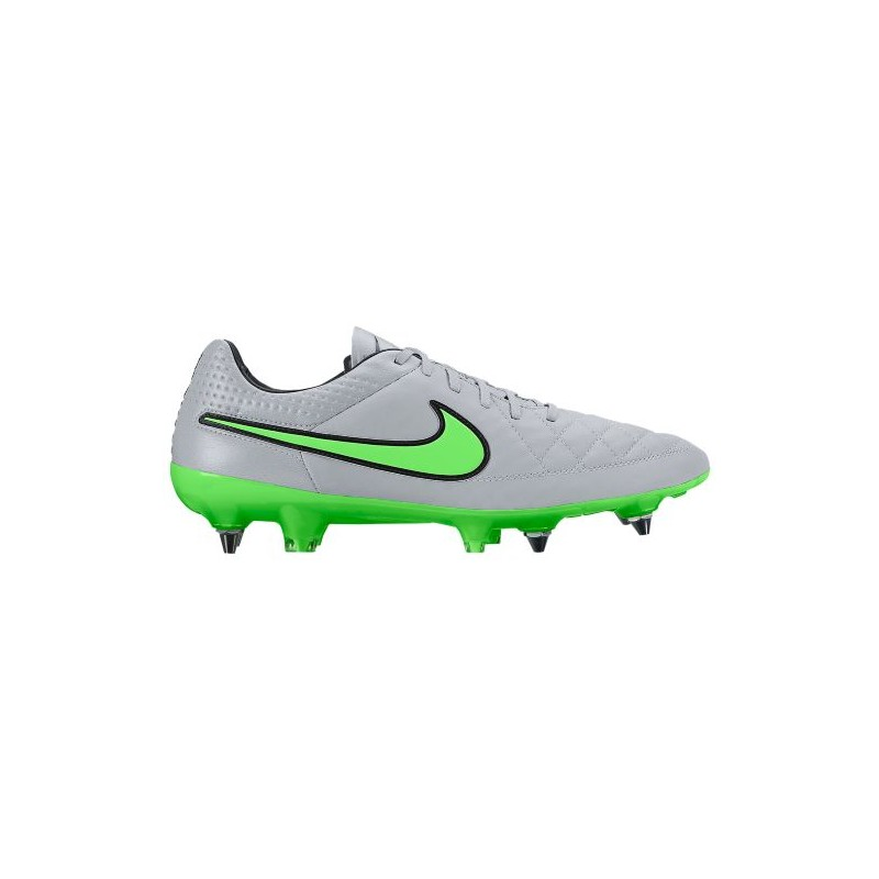 pretty nice 478ca 02546 Nike Tiempo Legend V SG Pro - Men's - Soccer - Shoes - Wolf Grey/Green  Strike-sku:31614030