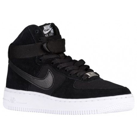 factory authentic 372d2 9aede Nike Air Force 1 High - Boys' Grade School - Basketball - Shoes -  Black/Black/White-sku:53998009