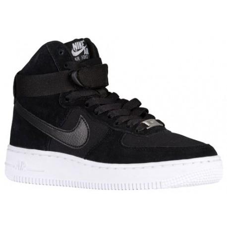 factory authentic 640b2 ac8a6 Nike Air Force 1 High - Boys' Grade School - Basketball - Shoes -  Black/Black/White-sku:53998009