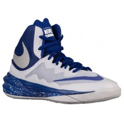 Nike Prime Hype DF II - Boys' Grade School - Basketball - Shoes - Wolf Grey/Reflective Silver/Deep Royal-sku:07613004