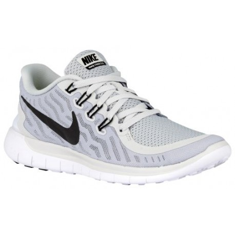 Nike Free 5.0 2015 - Women's - Running - Shoes - Pure Platinum/Wolf  Grey/Cool Grey/Black-sku:24383003
