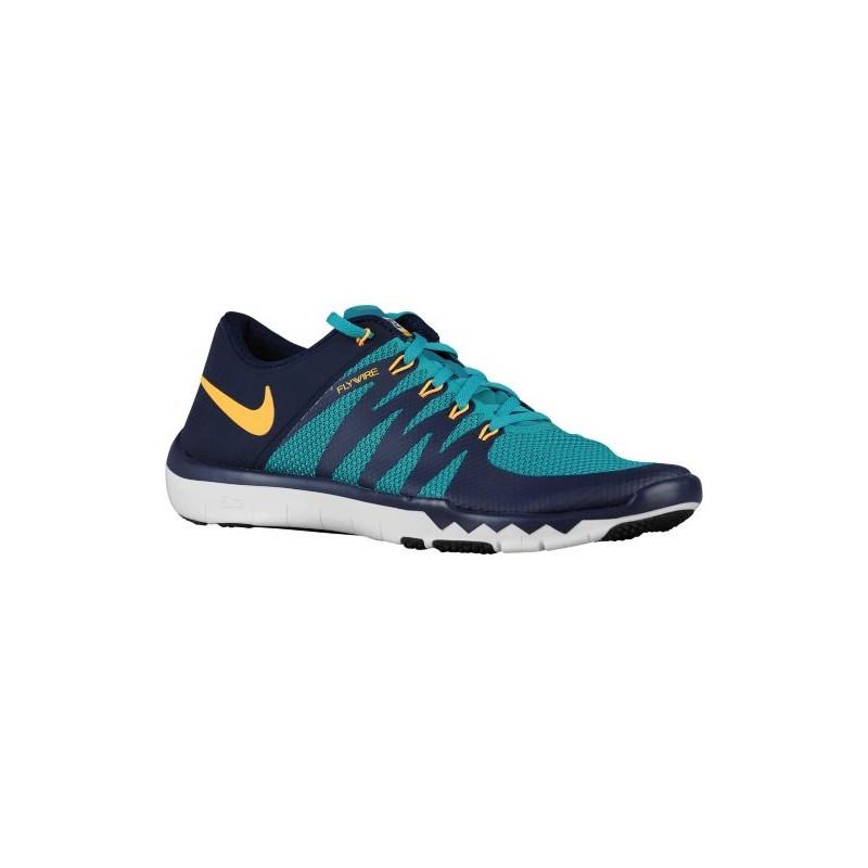 Nike Free Trainer 5.0 V6 - Men's - Training - Shoes - Radiant Emerald/ Obsidian ...