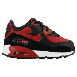 Nike Air Max 90 - Boys' Toddler - Running - Shoes - Gym Red/Gym Red/Black/Bright Crimson/White-sku:24823601