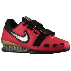 Nike Romaleos II Power Lifting - Men's - Training - Shoes - Varsity Red/Metallic Gold/Black-sku:76927670