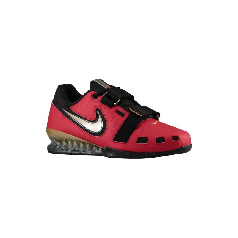 Nike Romaleos II Power Lifting - Men's - Training - Shoes - Varsity Red/ Metallic ...