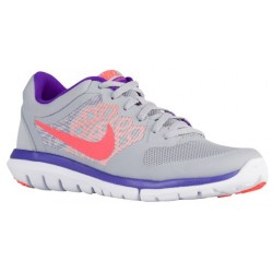 Nike Flex Run 2015 - Women's - Running - Shoes - Wolf Grey/Fierce Purple/Atomic Pink/Hyper Orange-sku:09021015