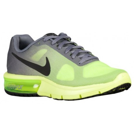 Nike Air Max Sequent - Boys' Grade School - Running - Shoes - Volt/