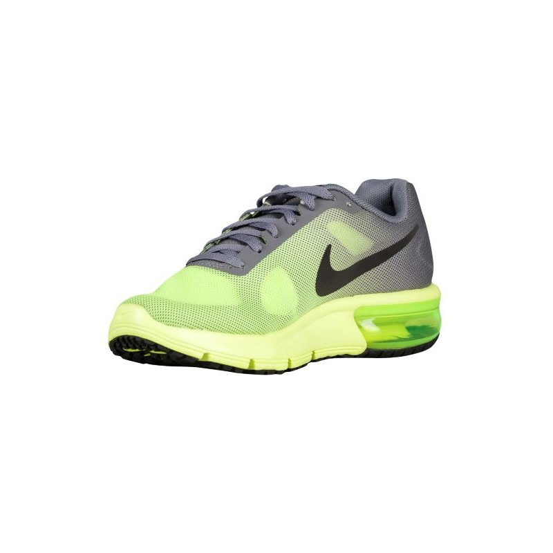 ... Nike Air Max Sequent - Boys' Grade School - Running - Shoes - Volt/ ...