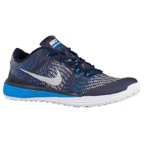 Nike Lunar Caldra - Men's - Training - Shoes - Obsidian/White/Racer Blue