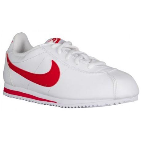 Nike Cortez 07 - Boys' Preschool - Running - Shoes - White/University Red