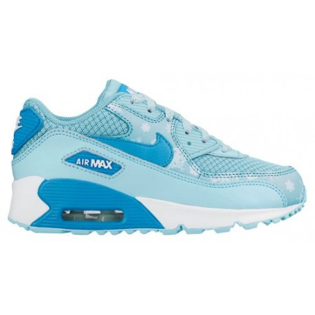 Nike Air Max 90 - Girls Preschool - Running - Shoes - CopaWhite