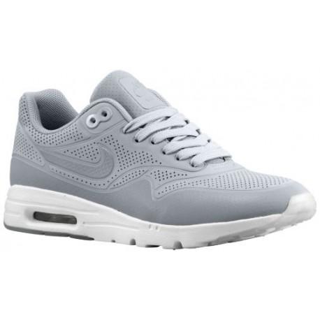 Nike Air Max 1 Ultra Women's Running Shoes Wolf GreyWhiteWolf Grey sku:04995002
