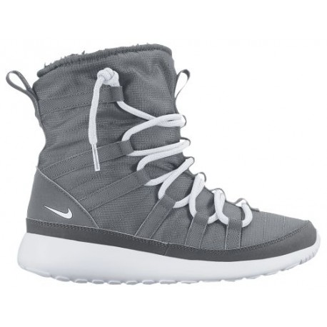 best service 514bf c9a3e Nike Roshe One Hi Sneakerboots - Girls' Grade School - Casual - Shoes -  Cool Grey/White/Dark Grey-sku:07758002