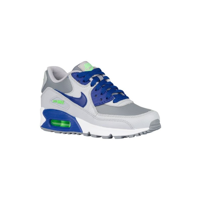 reputable site c7579 3ff88 Nike Air Max 90 - Boys  Grade School - Running - Shoes - Cool Grey ...