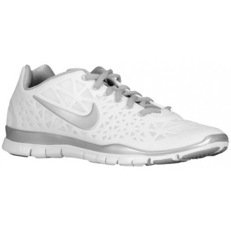 Nike Free TR Fit 3 - Womens - Training - Shoes - WhiteMetallic Silver