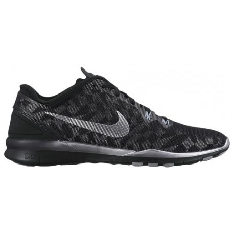 detailed look ec62f a4e6f nike tr fit 5.0,Nike Free 5.0 TR Fit 5 - Women s - Training - Shoes -  Black Metallic Silver Fit Silver-sku 06277001