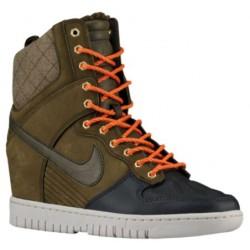 Nike Dunk Sky Hi Sneaker Boot - Women's - Basketball - Shoes - Dark Loden/Anthracite/Raspberry Red/Dark Loden-sku:84954300