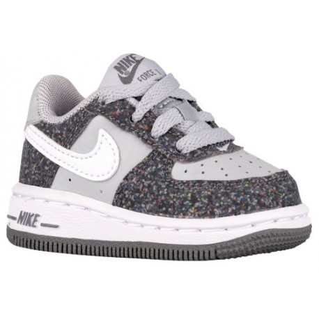 watch d1318 e90eb Nike Air Force 1 Low - Boys' Toddler - Basketball - Shoes - Dark Grey/Wolf  Grey/White-sku:96730023