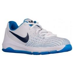 Nike KD 8 - Boys' Preschool - Basketball - Shoes - Kevin Durant - White/Midnight Navy/Photo Blue/Opti Yellow-sku:68868144