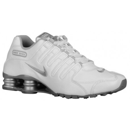 new products 9f48e e992a Nike Shox NZ - Women's - Running - Shoes - White/Cool Grey/Metallic  Silver-sku:88312108