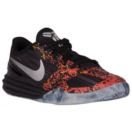 Nike Mentality - Boys' Grade School - Basketball - Shoes - Black/Anthracite/Cool Grey-sku:05387010