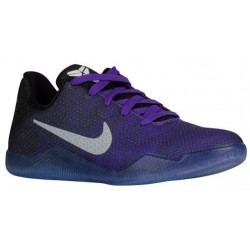 Nike Kobe XI Elite - Boys' Grade School - Basketball - Shoes - Kobe Bryant - Hyper Grape/White/Black/Univ Gold/Brt Crimson-sku:2
